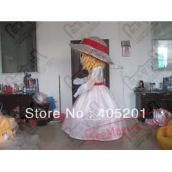 Strawberry Girl Mascot Costumes