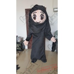 Arab Family Mascot Costumes Boy Girl Costume
