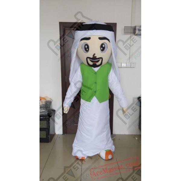 Arab Family Mascot Costumes Boy Girl Costume