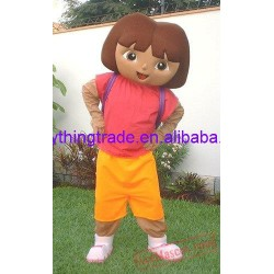 Cartoon Character Adult Cute Nice Girl Mascot Costume