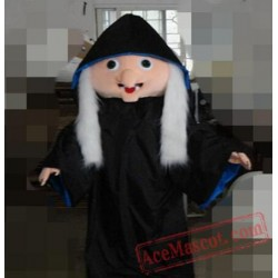 Professional Witch Party Mascot Costume Halloween Girl Costume