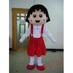 Chibi Maruko Mascot Costumes Girl Costumes