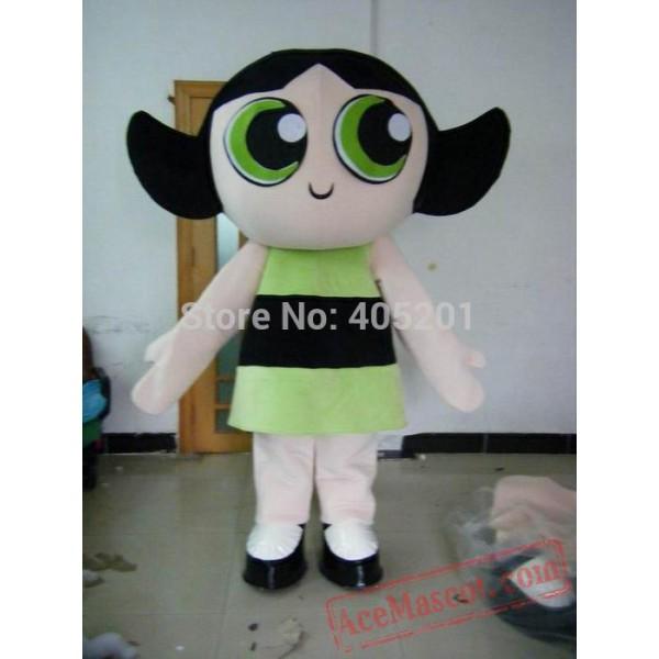 Big Eyes Girl Mascot Costumes