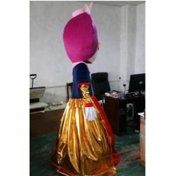 Girl Princess Mascot Costume