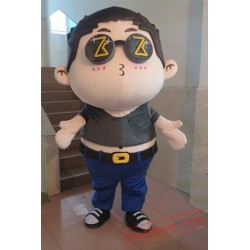 Fat Boy Mascot Costume