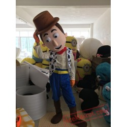 Cow Boy Woody Cartoon Mascot Costume
