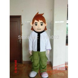 Christmas Ben Boy Mascot Costume For Adult