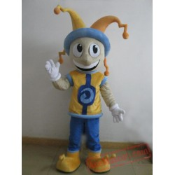 Cartoon Happy Boy Mascot Costume