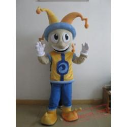 Cartoon Happy Boy Mascot Costume