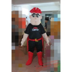 Cartoon Character Cute Red Hair Boy Mascot Costume