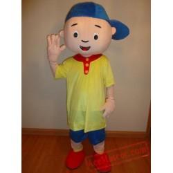 Caillou Boy Mascot Costume