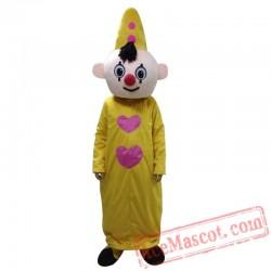 Yellow Hat Boy Mascot Costume Bumba Mascot Costumes For Adult