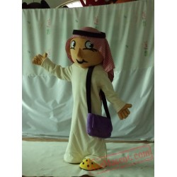 Arab Boy Mascot Costumes