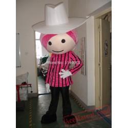 Boy Mascot Costume For Adult