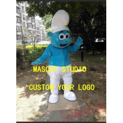 Blue Elf Boy Mascot Costume