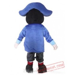 Boy Mascot Costume With Blue Hat
