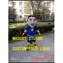 Football Team Boy Mascot Costume