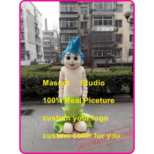 Bubble Boy Mascot Costume