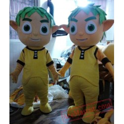 Cosplay Little Boy Spadger Lady Young Man Mascot Costume