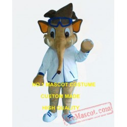 Cool Elephant Boy Mascot Costume