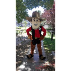 Cowboy Mascot Costume Cow Boy Costume