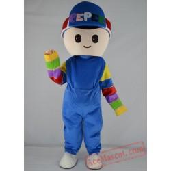 Boy Girl Mascot Costume