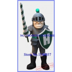 Grey Knight Mascot Costume Spartan Warrior Knight Costumes