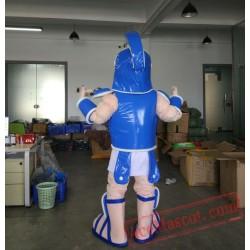 Spartan Trojan Soldier Warrior Knight Mascot Costume