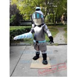 Knight Mascot Costume Lanceer Trojan Costume