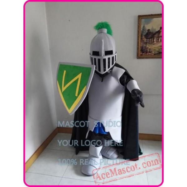 Green Knight Mascot Costume Spartan Trojan Costume