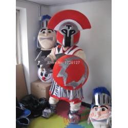 Titan Mascot Knight Spartan Costume