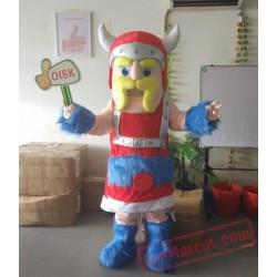 Knight Soldier Warrior Mascot Costume