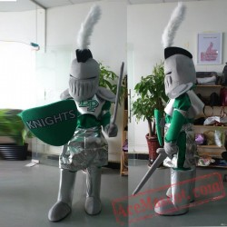 Private Soldier Warrior Mascot Costume