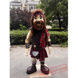 Warrior Mascot Costume