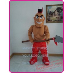 Mexican Mascot Costume Indian Costume Warrior Costume