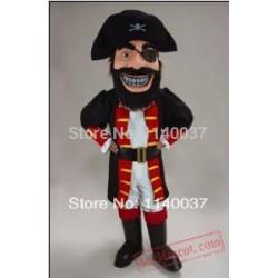 Redbeard Pirate Mascot Costume