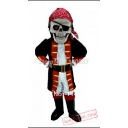 Cosplay Skull Pirate Mascot Costume