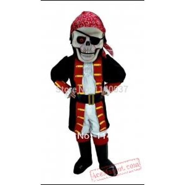 Cosplay Skull Pirate Mascot Costume
