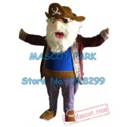 Old Pirate Mascot Costume