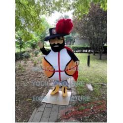 Basketball Pirate Mascot Costume