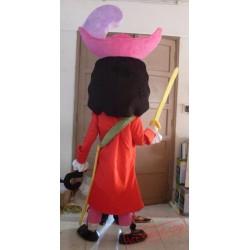 Swordsman Pirate Mascot Costume
