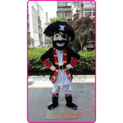 High Quality Pirate Mascot Costume