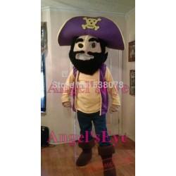Pirate Mascot Costume Adult Cartoon Pirate