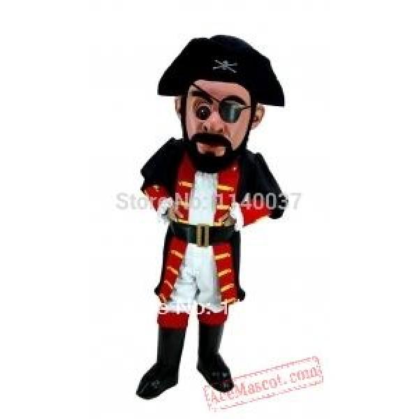 Captain Blythe Pirate Mascot Costume
