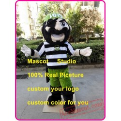 Pirate Mascot Costume Captain Warrior Mascot
