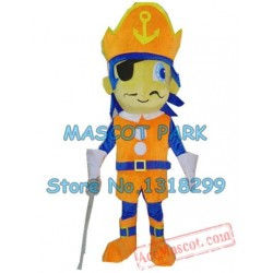 Pirate Boy Mascot Costume