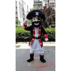 High Quality Pirate Man Mascot Costume