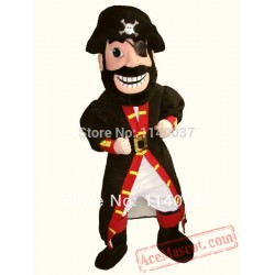 Caribbean Pirate Men Mascot Costume