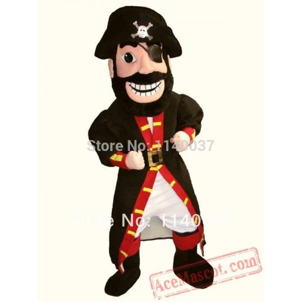 Caribbean Pirate Men Mascot Costume