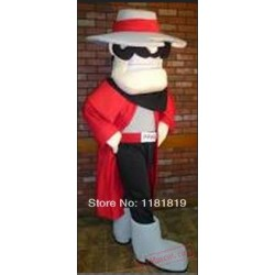 Rebel Mascot Costume